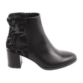 Stilfulde støvler på stolpen sorte Sergio Leone 521