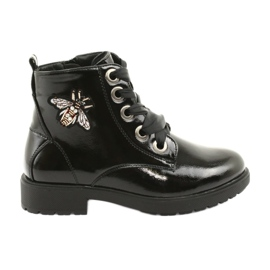 Sergio Leone 530 lakstøvler sort