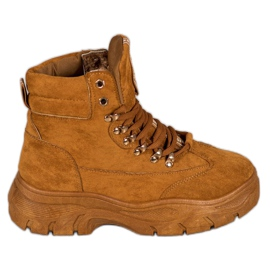 Støvler på VICES-platformen brun