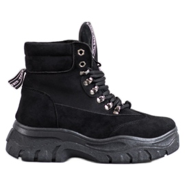 Støvler på VICES-platformen sort