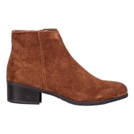 Filippo Klassiske læderstøvler brun