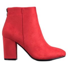VINCEZA Sexede støvler rød