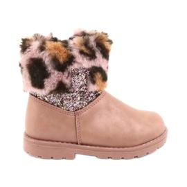 American Club Amerikanske lyserøde pige-støvler i GC45