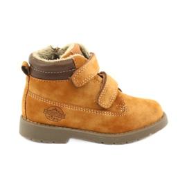 Støvler Timberki Velcro American Club GC43 kamel brun