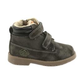 Timberki støvler med velcro American Club GC43 grå