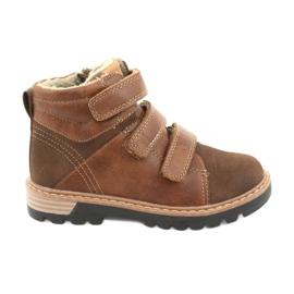 Timberki støvler med velcro American Club GC40 brun