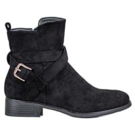 Filippo Suede Støvler sort