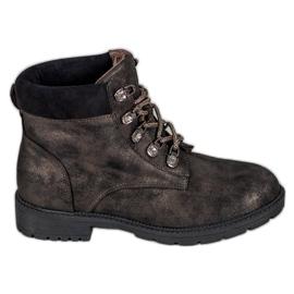 Støvler med glitter VICES brun