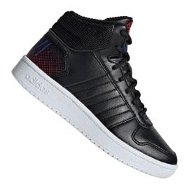 Adidas Hoops Mid 2.0 Jr EE8547 sko sort