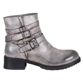 SHELOVET Klassiske grå støvler