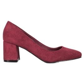 Vinceza Bourgogne pumper rød