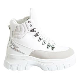 Seastar Mode snøre-ankelstøvler hvid