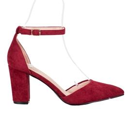 Elegante VINCEZA-pumper rød