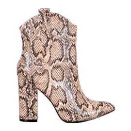 Cowboy støvler VICES brun