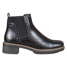 Filippo Sorte støvler med Eco-læder