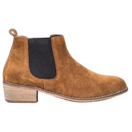 Goodin Læder Jodhpur støvler brun