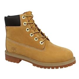 Timberland 6 i Premium Wp Boot Jr 12909 sko gul