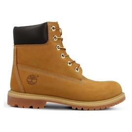 Timberland Premium 6 tommer Jr 10361 sko gul