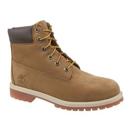 Timberland Premium 6 tommer W 14949 sko brun