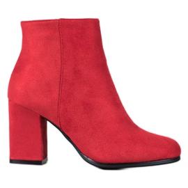 Marquiz Røde ruskindstøvler