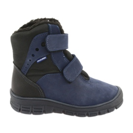 Støvler med en membran Mazurek 1351 marineblå