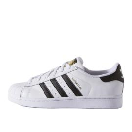 Adidas Originals Superstar Fundation Jr C77154 sko hvid