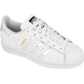 Adidas Originals Superstar Jr AQ6278 sko hvid