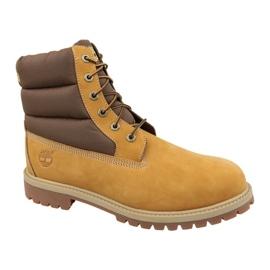 Timberland 6 i Quilit Boot Jr C1790R vinterstøvler brun