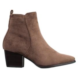 Filippo Stilfulde ankelstøvler brun