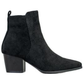 Filippo Stilfulde ankelstøvler sort