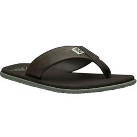 Helly Hansen Seasand Leather Sandal M 11495-713 hjemmesko brun