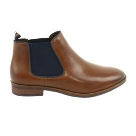 Caprice 25327 brune Jodhpur-støvler