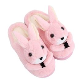 Bunnies tøfler til kvinder lyserosa MA17 Pink