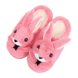 Bunnies tøfler til kvinder mørk lyserød MA17 rød pink