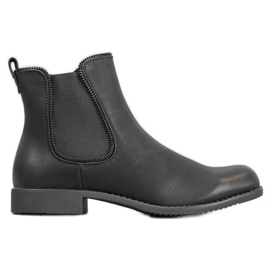 J. Star Booties Jodhpur støvler sort
