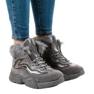 Isolerede grå sneakers LS-2062