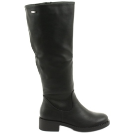 Støvler på den tykke bund Sergio Leone 280 sort