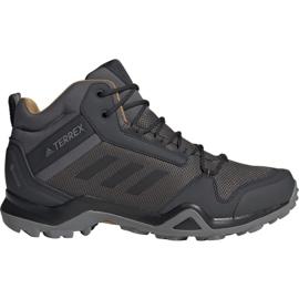 Adidas Terrex AX3 Mid Gtx M BC0468 sko grå