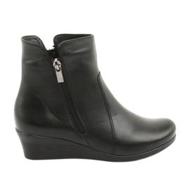 Vinterstøvler på kilen Angello 971 sort