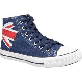 Lee Cooper High Cut 1 LCWL-19-530-041 sko blå