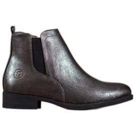 Sergio Leone Sølv Jodhpur støvler grå