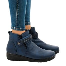 Navy varme lette støvler 6193