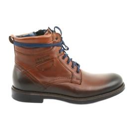 Nikopol 700 lynlåsbrune støvler