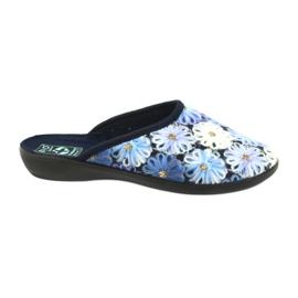 Tøfler flip flops 3D Adanex 24192 marineblå