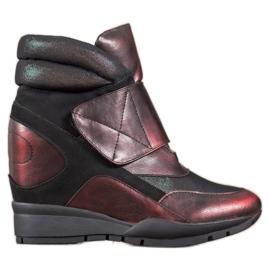 Sergio Leone Velcro sneakers rød