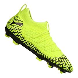 Puma Future 4.3 Netfit Fg / Ag Jr 105693-03 fodboldstøvler gul gul
