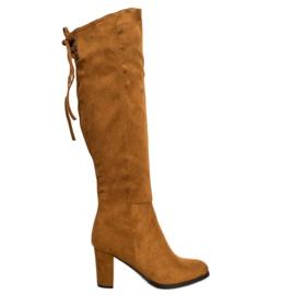 Suede Støvler VINCEZA brun