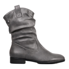 Sergio Leone Grå cowboystøvler