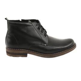 Moskała BR-1 mænds sorte støvler