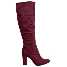 Elegante VINCEZA støvler rød